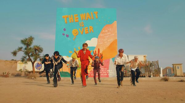Кадр из клипа BTS Permission to Dance