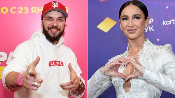 Рэпер ST (Александр Степанов) и Ольга Бузова