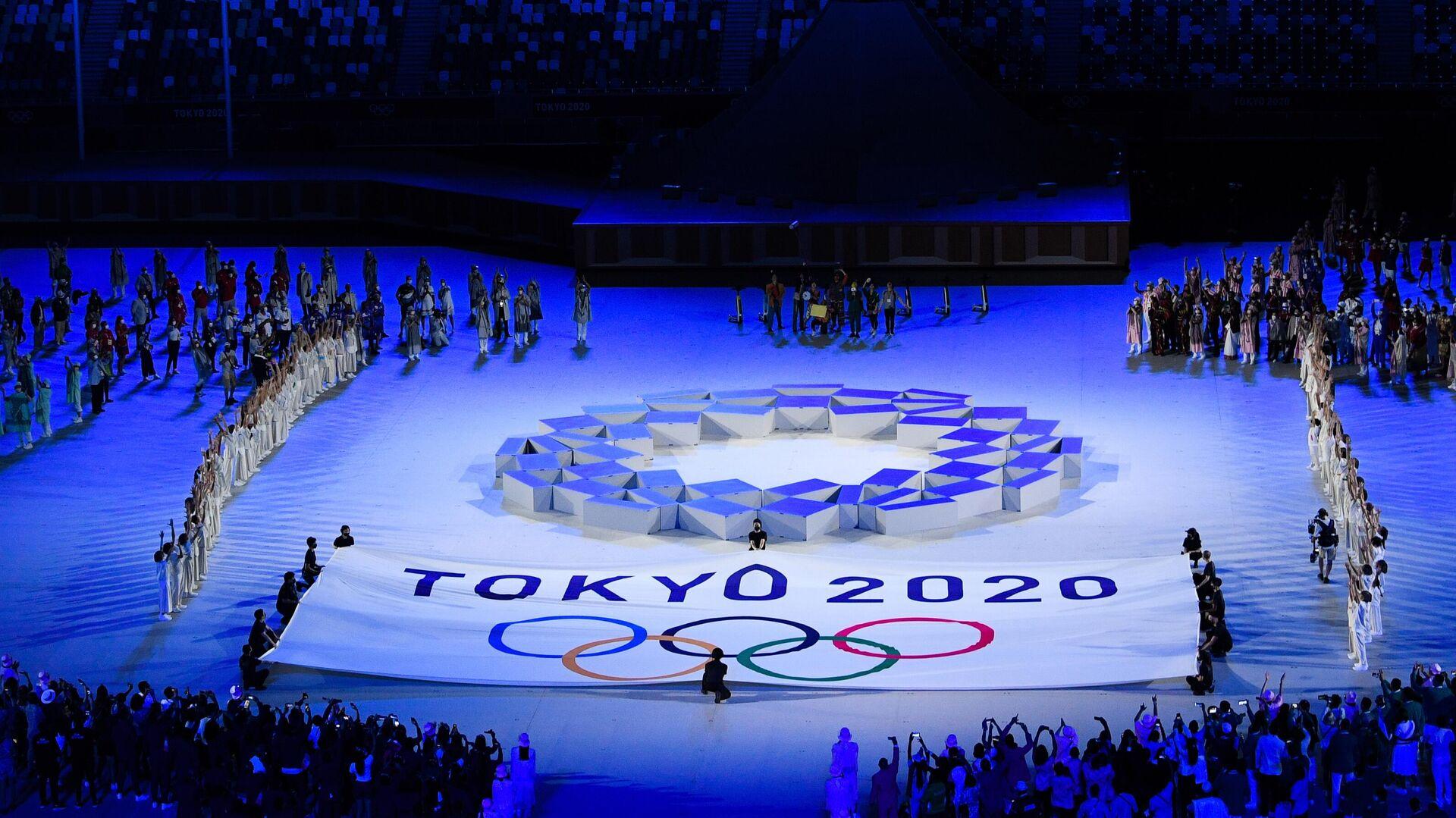 Церемония открытия XXXII летних Олимпийских игр - РИА Новости, 1920, 25.07.2021