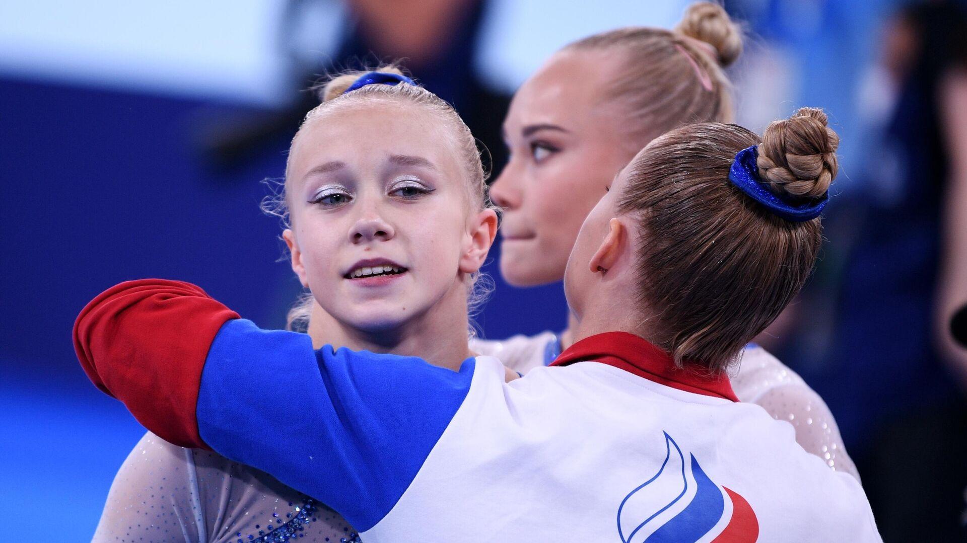 Российская гимнастка Виктория Листунова - РИА Новости, 1920, 27.07.2021