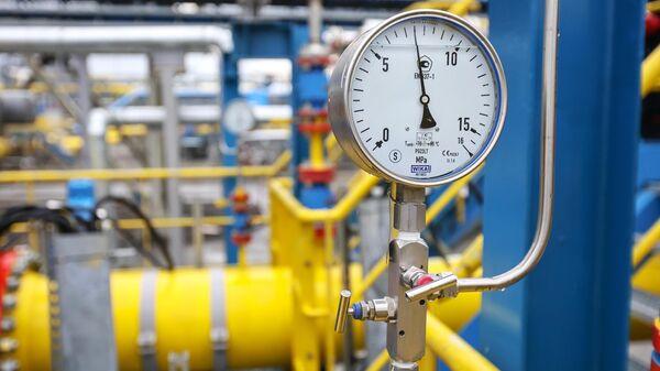 Узлы учета газа Амурского газоперерабатывающего завода компании Газпром
