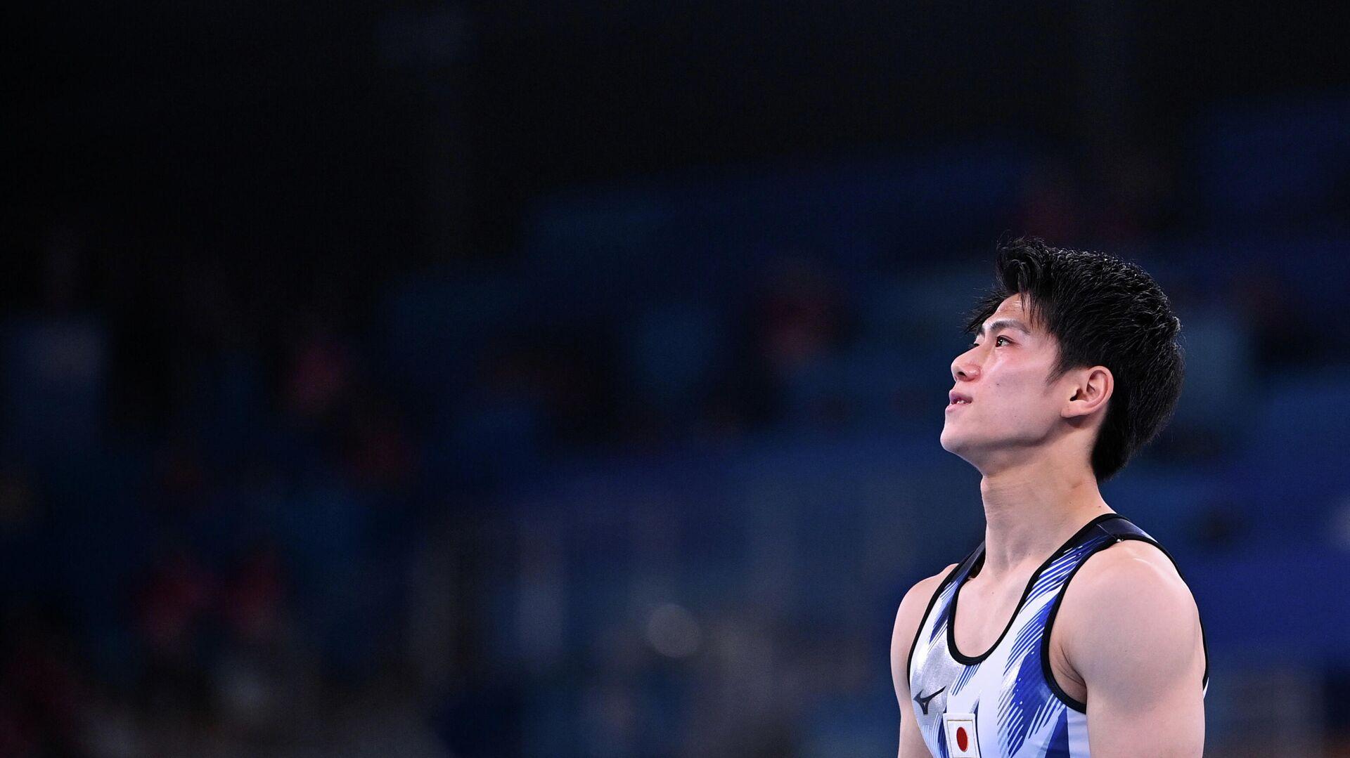 Японский гимнаст Дайки Хасимото - РИА Новости, 1920, 28.07.2021