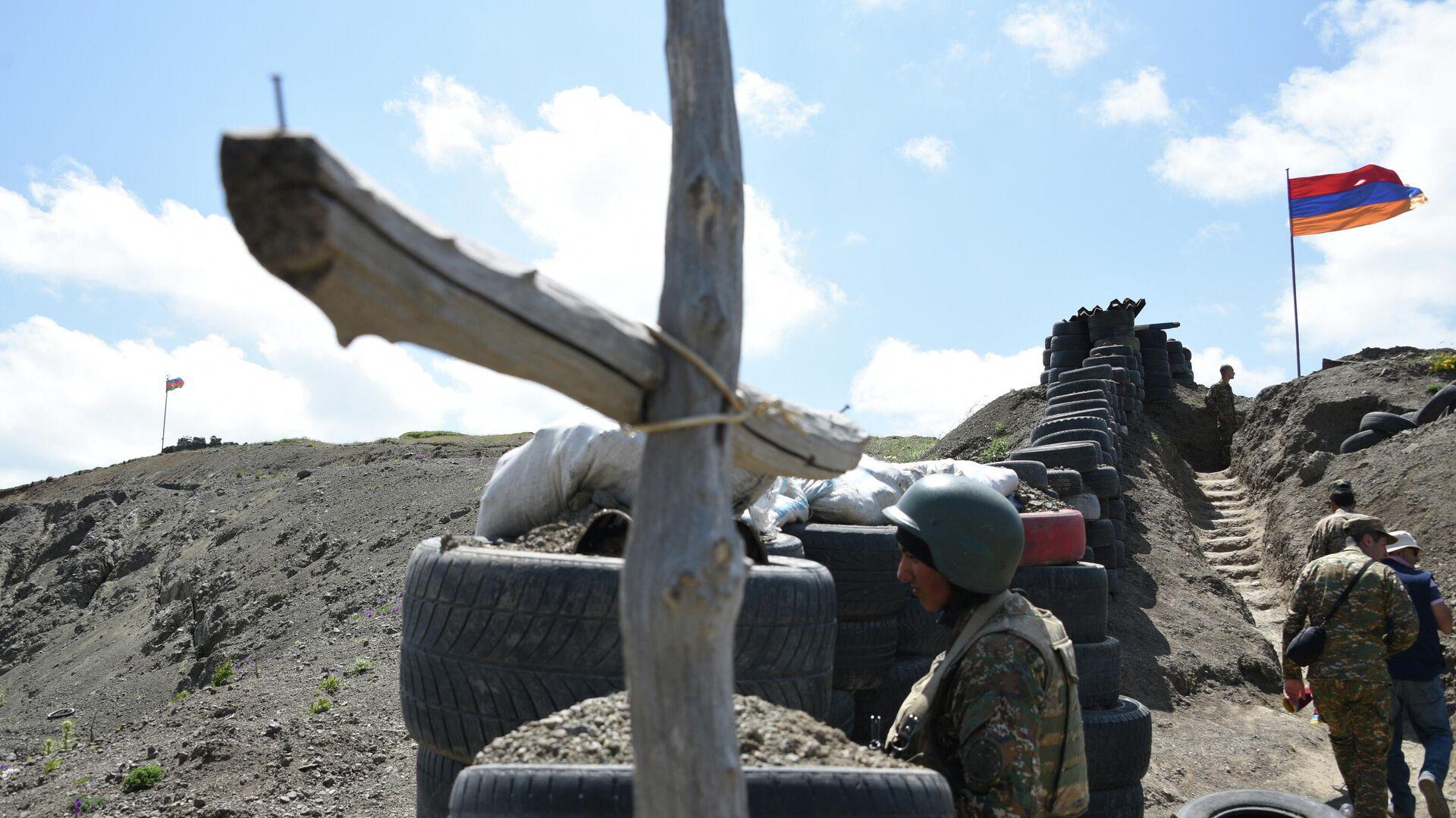 В Армении заявили об обстреле на границе со стороны Азербайджана