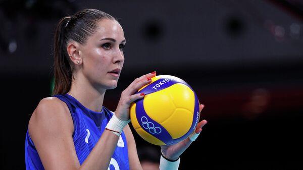 Российская волейболистка Наталия Гончарова