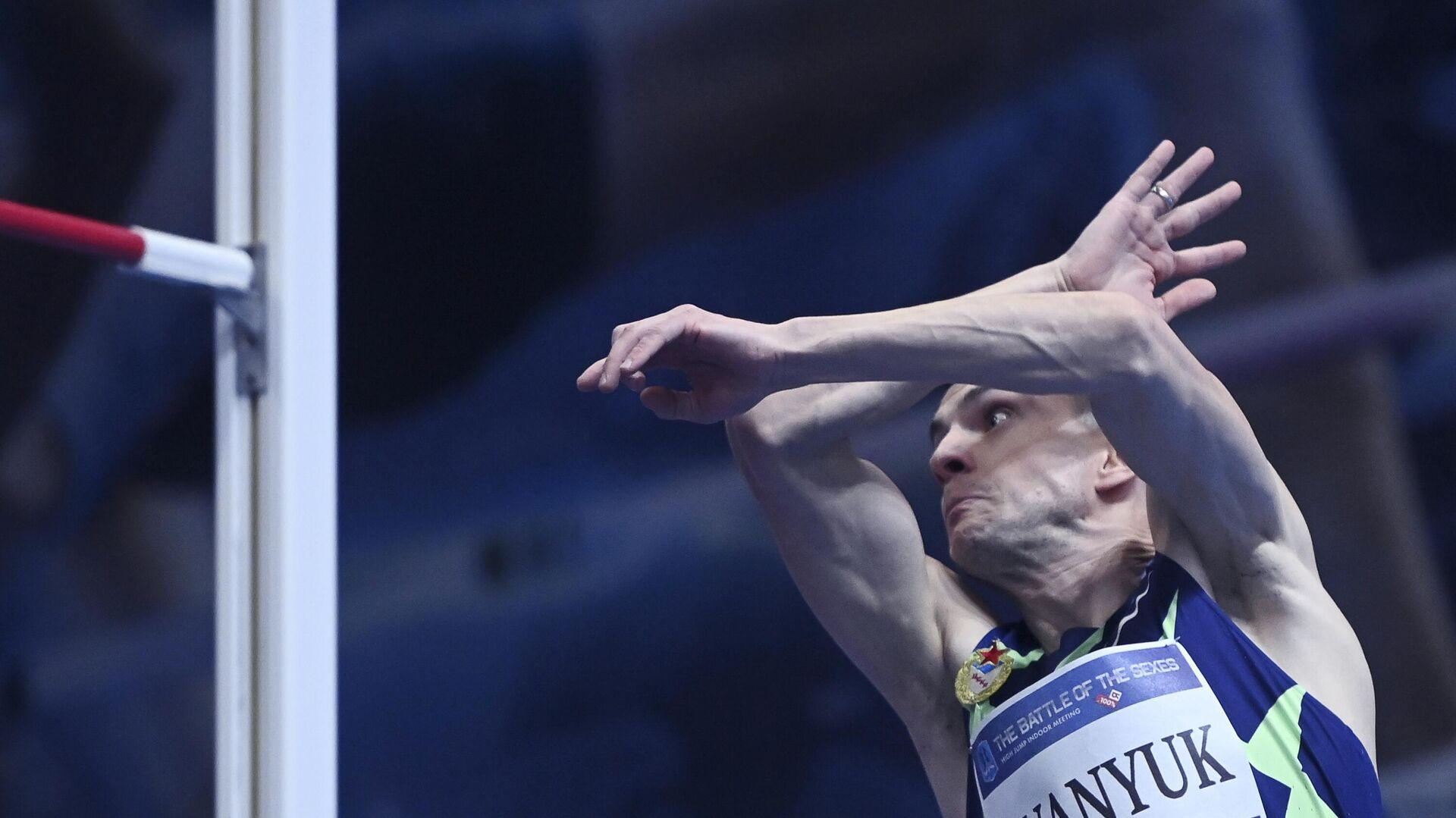 Соревнования по прыжкам в высоту Битва полов - РИА Новости, 1920, 30.07.2021