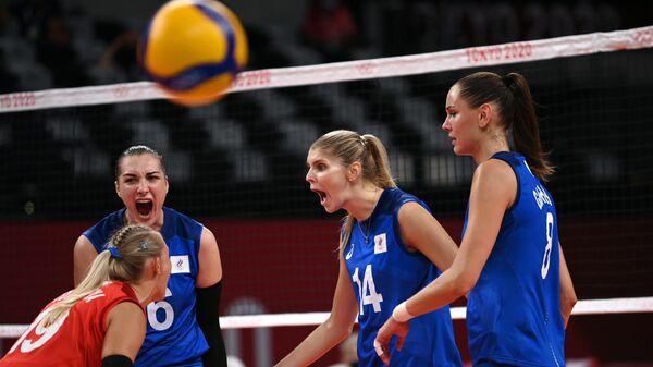 Олимпиада-2020. Волейбол. Женщины. Матч США - Россия