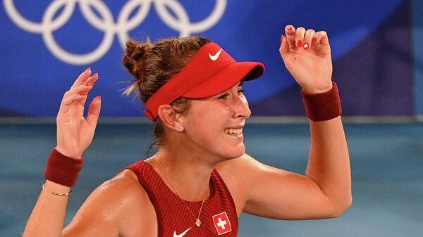 Теннисистка Белинда Бенчич (Швейцария)