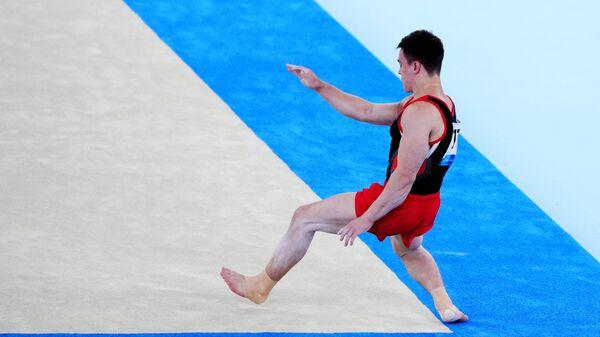 Олимпиада-2020. Спортивная гимнастика. Мужчины. Вольные упражнения
