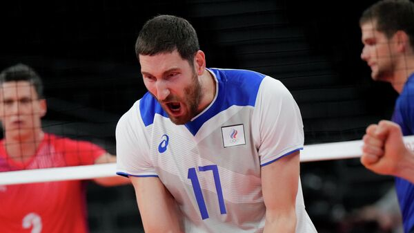 Олимпиада-2020. Волейбол. Мужчины. Матч Россия – Франция