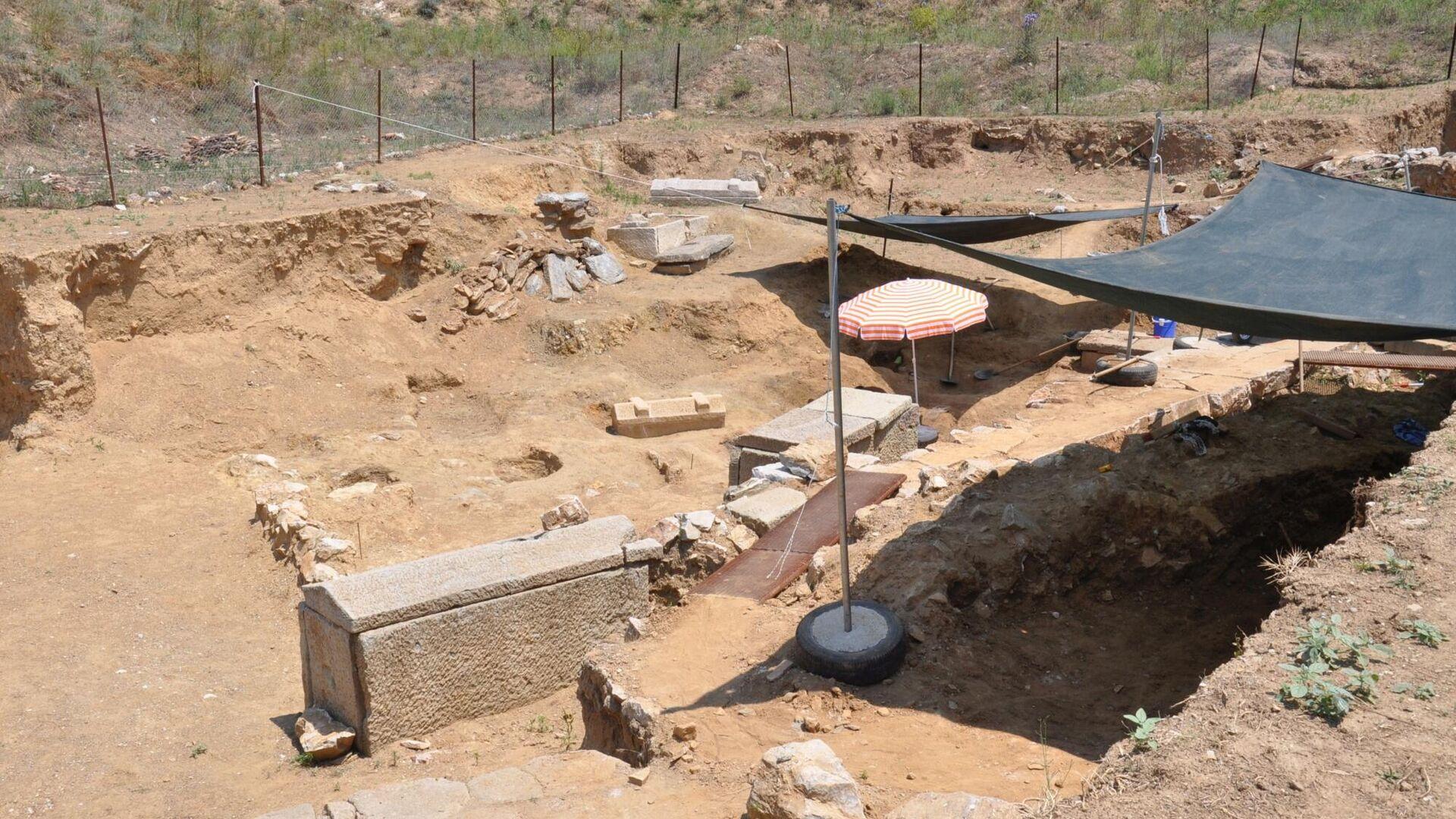 Раскопки в античном городе Парион в Турции - РИА Новости, 1920, 03.08.2021