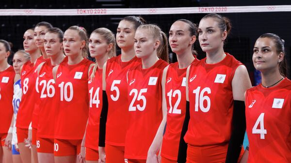 Женская сборная России по волейболу на Олимпиаде в Токио