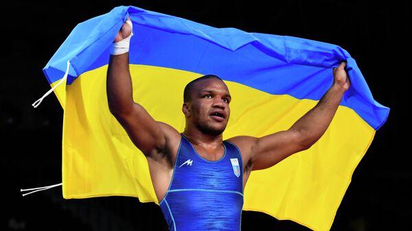 Украинский борец Жан Беленюк