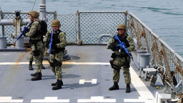 Участники первого этапа морской фазы военных учений Sea Breeze-2021