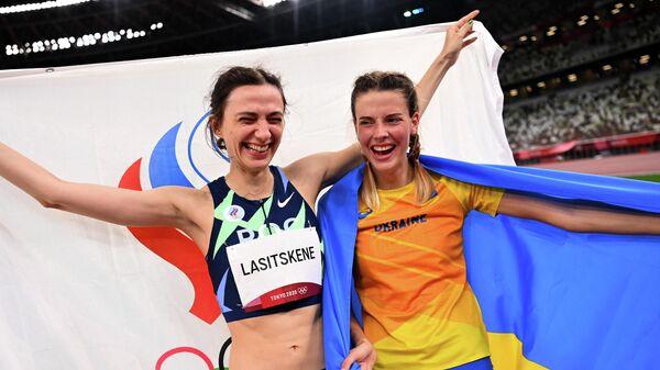 Россиянка Мария Ласицкене и украинка Ярослава Магучих