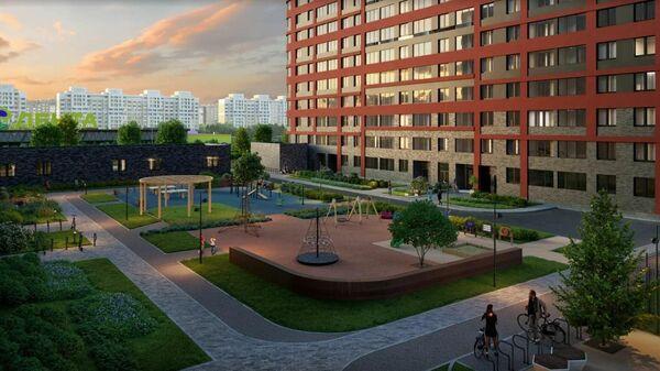 Проект жилого квартала в Приморском районе Санкт-Петербурга