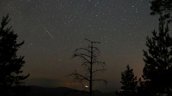 Астрономы открыли неизвестный ранее шлейф метеорного потока Персеиды
