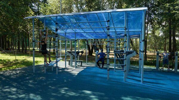 Благоустройство парка Барыши в Щербинке