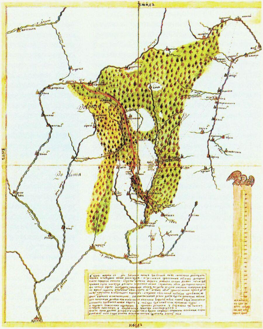 Засечная черта Смоленск-Брянск, 1706 год
