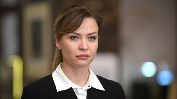 Полномочный представитель ДНР Наталья Никонорова