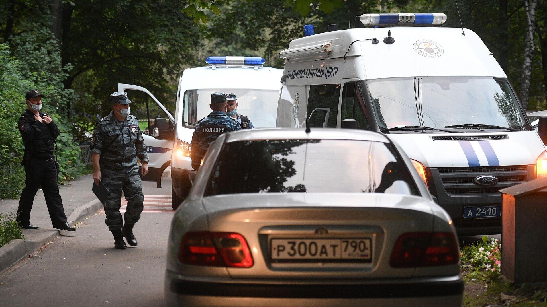 После взрыва гранаты в квартире в Москве мальчик доставлен в реанимацию