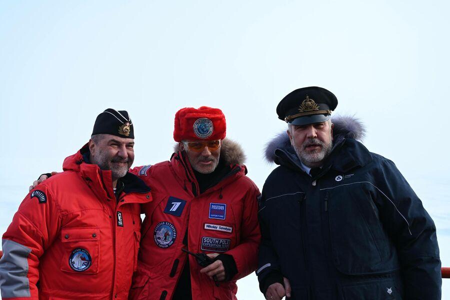 Евгений Гришковец, поездка на Северный полюс
