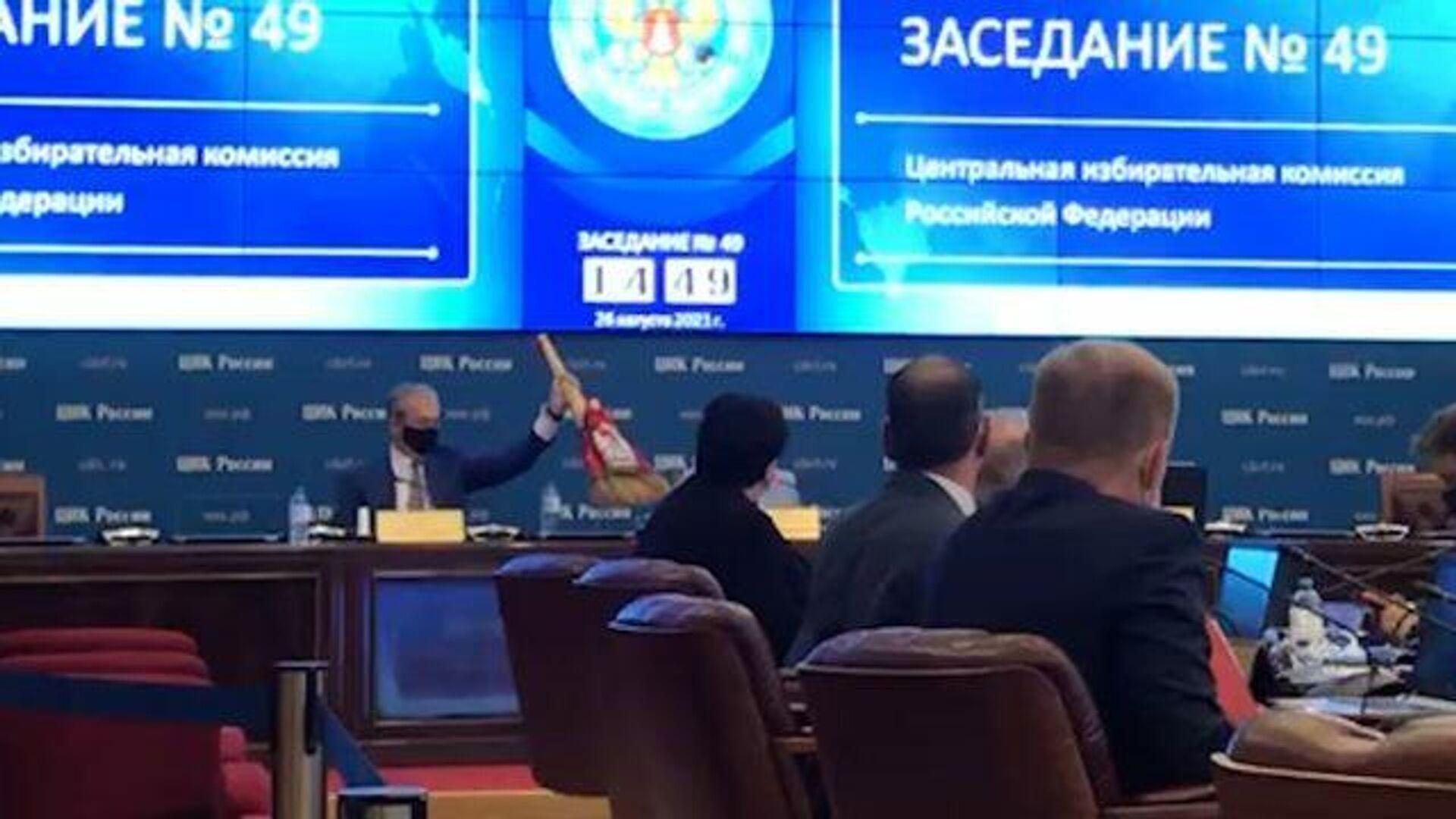 ЦИК потребовал исключить несколько кандидатов на выборы в Госдуму
