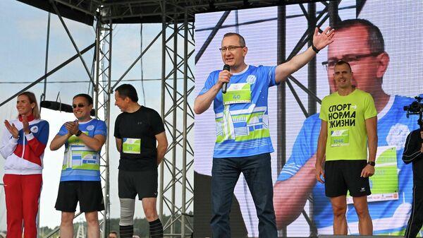 Губернатор Калужской области Владислав Шапша принял участие в Калужском космическом марафоне