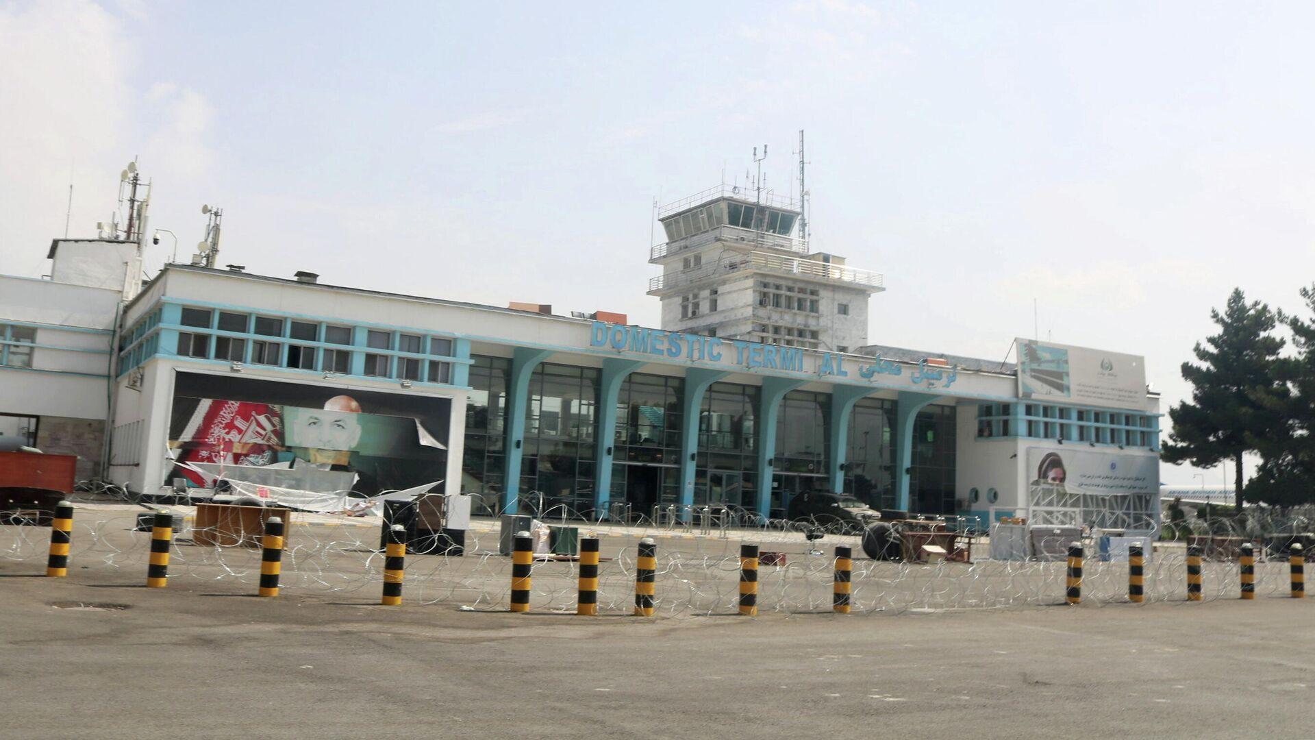 Терминал аэропорта в Кабуле после вывода американских войск - РИА Новости, 1920, 18.09.2021