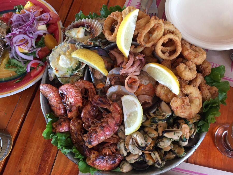 Морепродукты в Аргентине