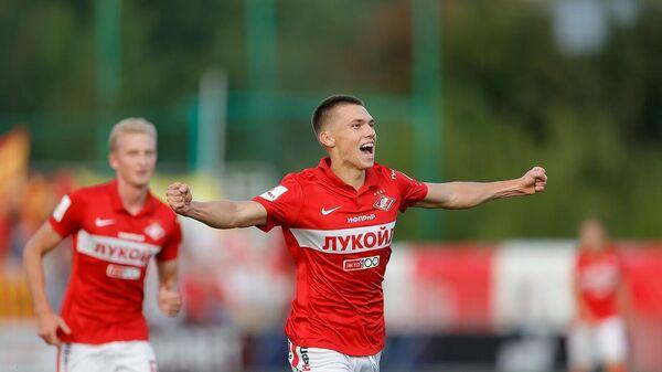 Футболист Спартака-2 Степан Мельников