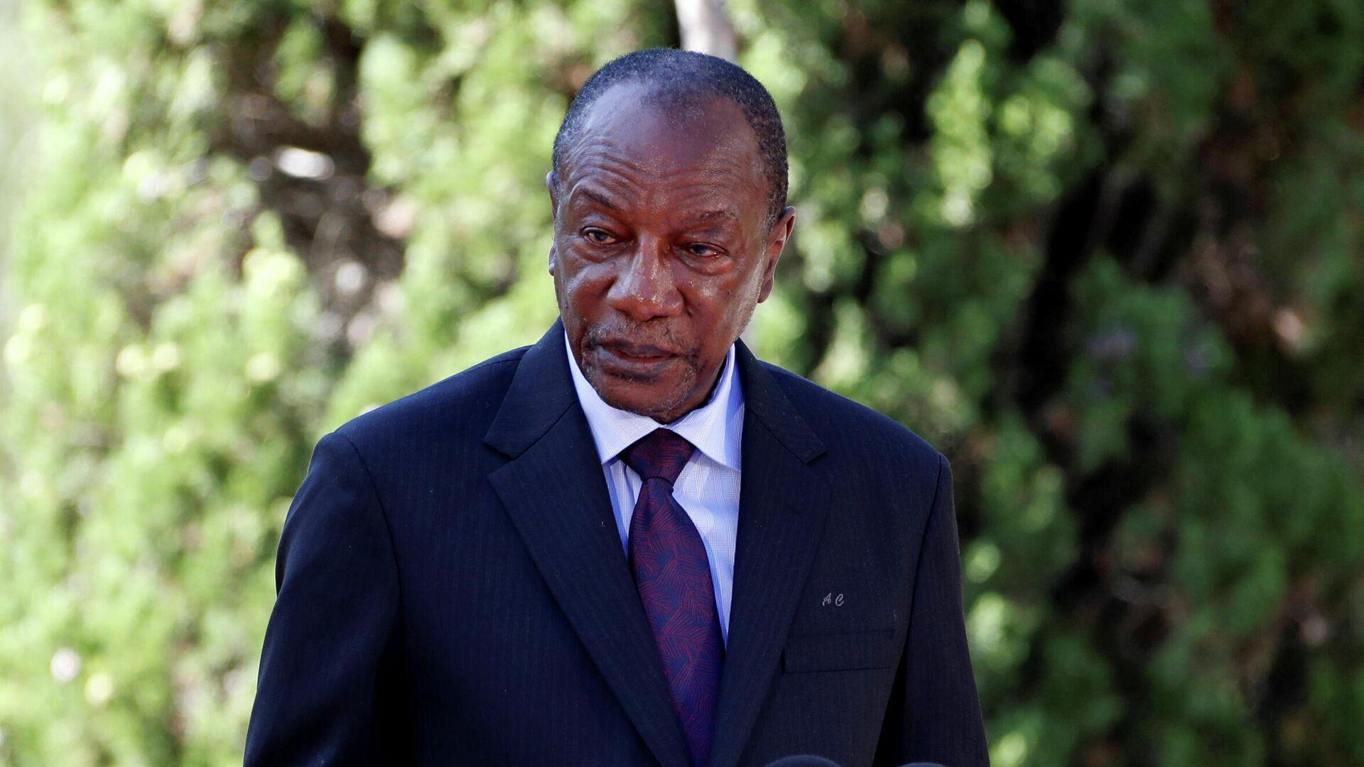 Президент Гвинеи Альфа Конде  - РИА Новости, 1920, 06.09.2021