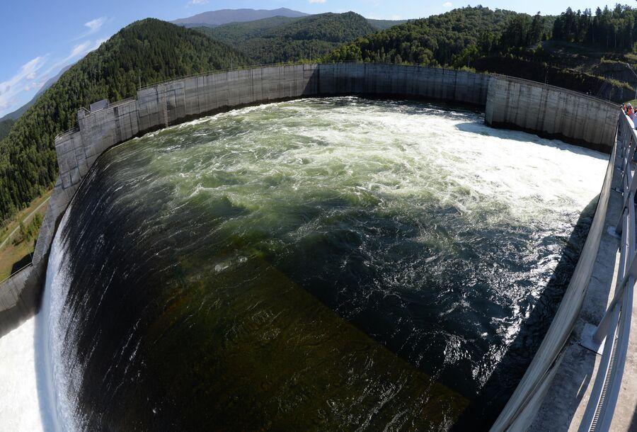 Открытие туристического маршрута на Саяно-Шушенской ГЭС