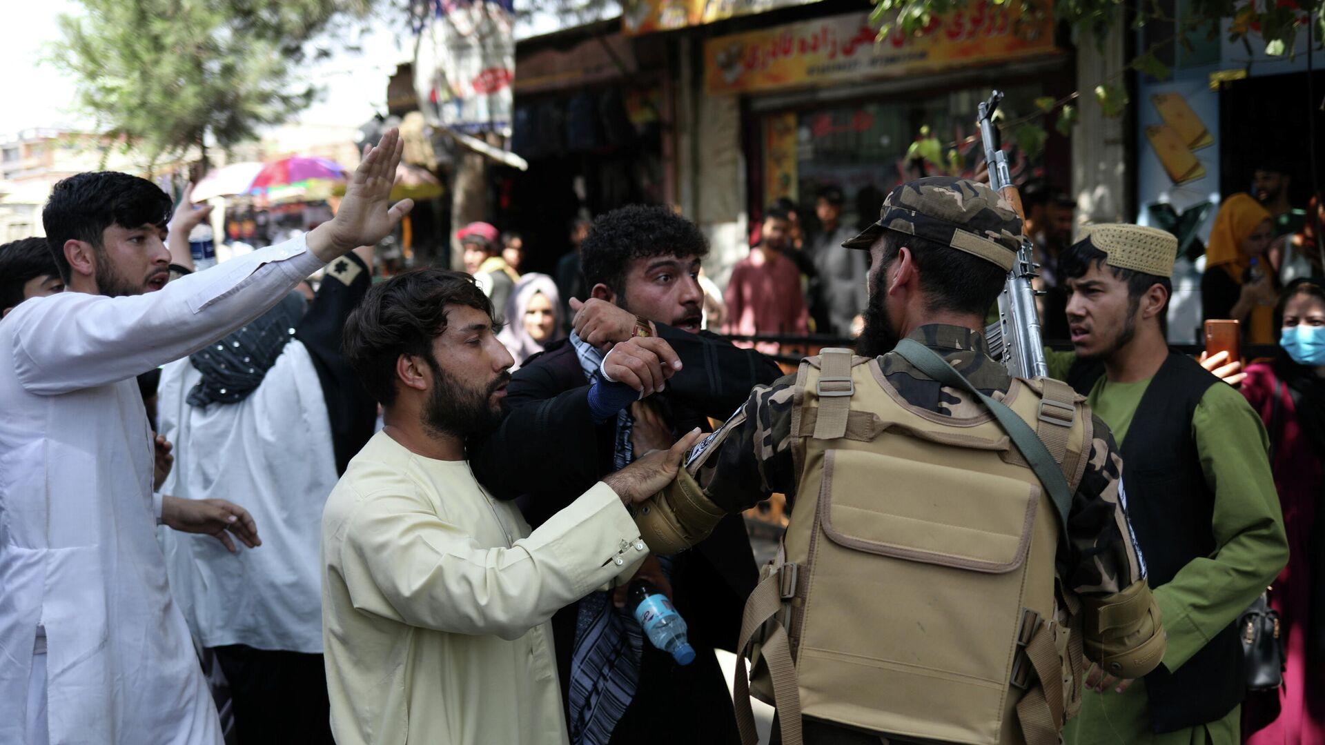 Антипакистанский протест в Кабуле - РИА Новости, 1920, 07.09.2021