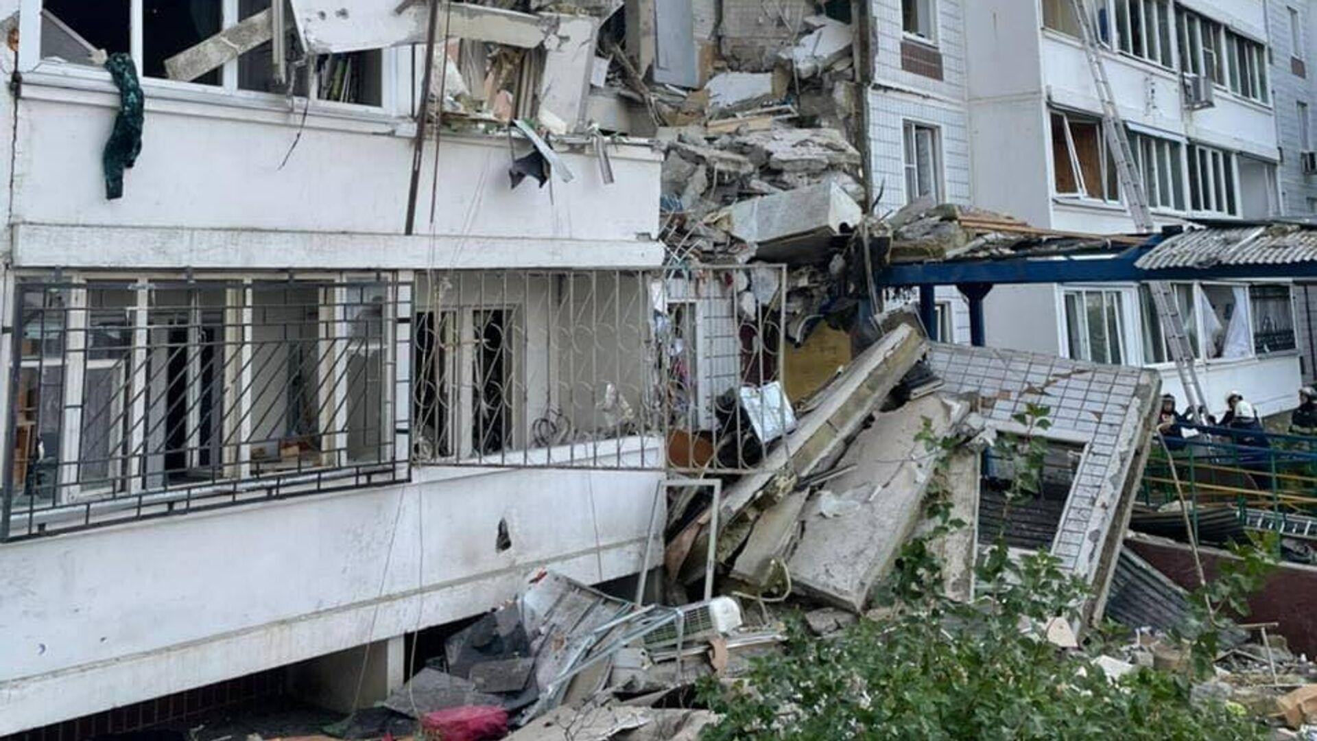 В Ногинске после взрыва газа развернут пункт временного размещения