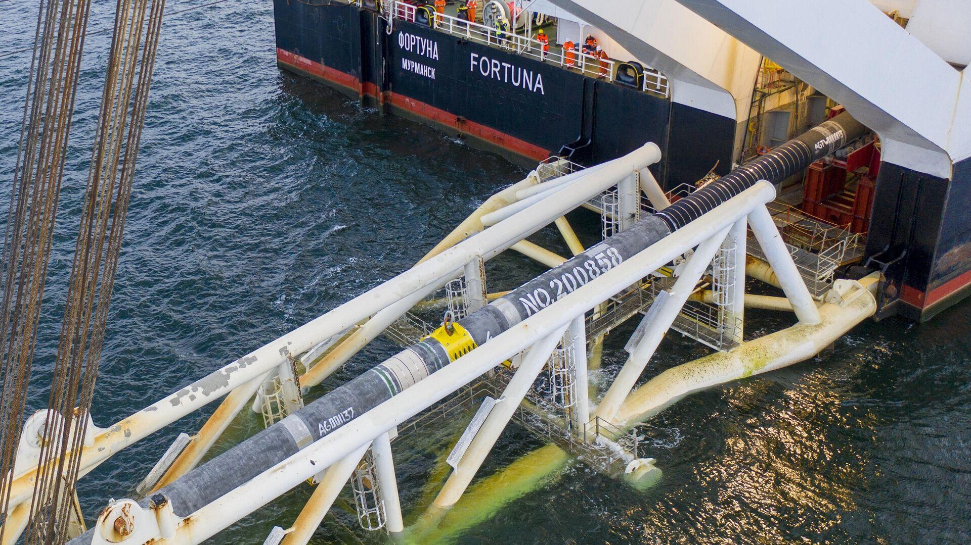 """Сертификация """"Северного потока — 2"""" понизит цены на газ, заявила эксперт"""