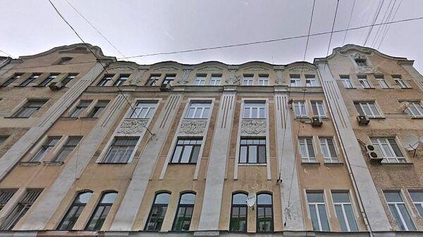 Жилой дом на Старой Басманной улице в Москве
