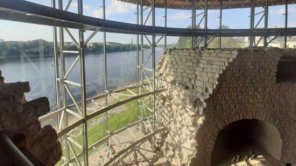 Варлаамовская башня в Пскове