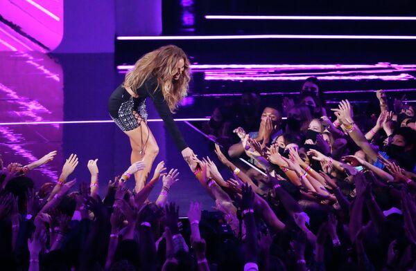 Дженнифер Лопес на премии MTV Video Music Awards