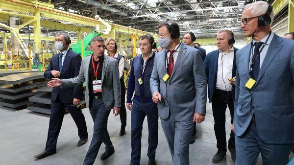 Губернатор Самарской области Дмитрий Азаров во вторник дал старт крупному производству металлических дверей в Тольятти