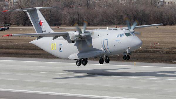 Новый российский военно-транспортный самолет Ил-112В
