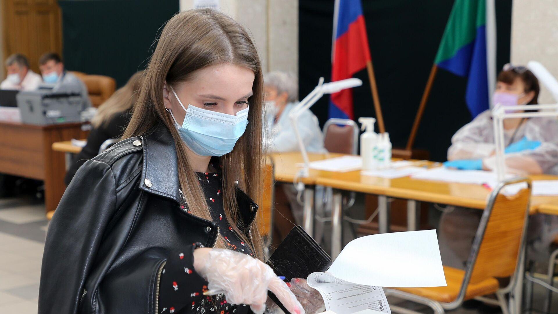 В Хабаровском крае проголосовали почти восемь процентов избирателей