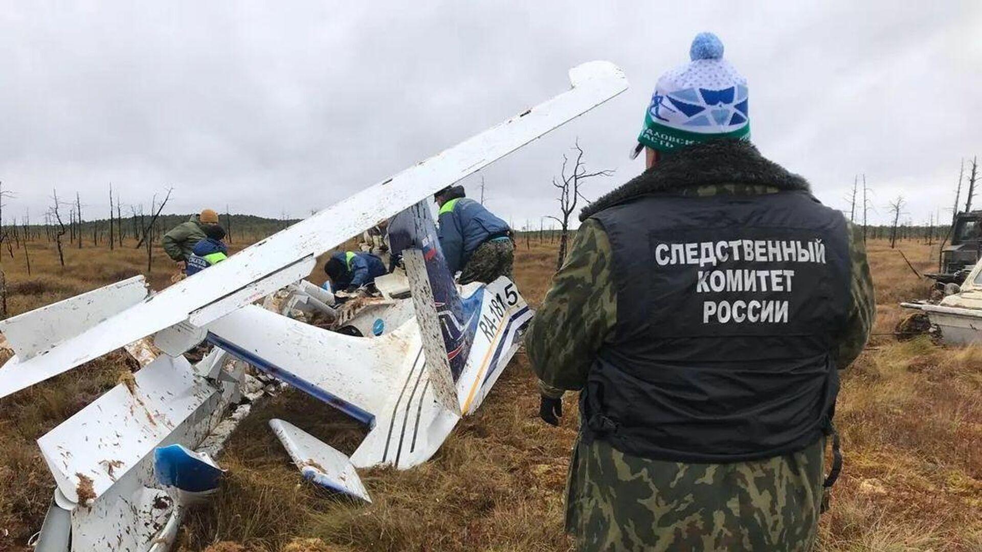 В Югре на месте крушения гидросамолета нашли тела двух погибших