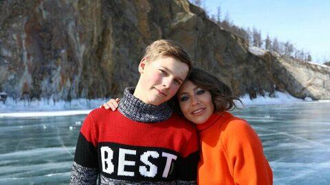 Артем и Юлия на Байкале