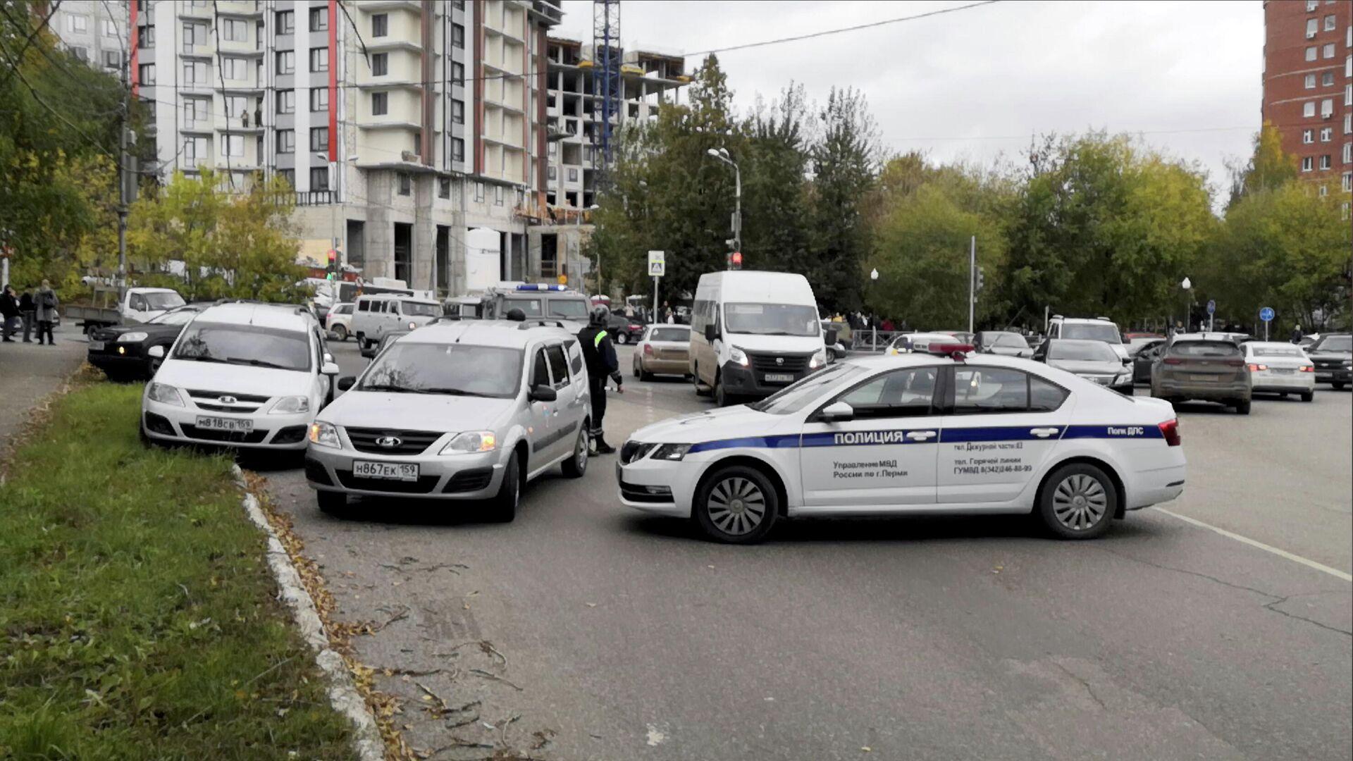 В МВД рассказали подробности задержания стрелявшего в пермском вузе