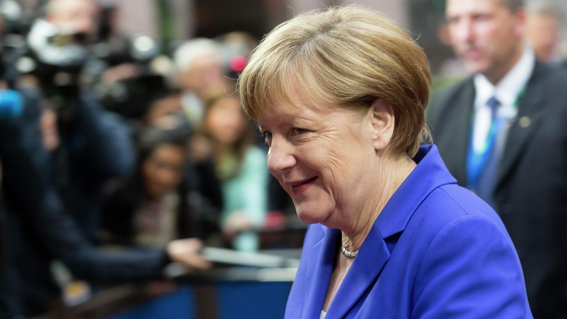 Песков прокомментировал предстоящий уход Меркель с поста канцлера Германии