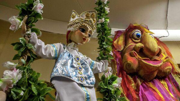 Мастерская оживления кукол в Новосибирском театре кукол