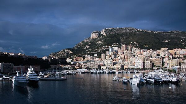 Вид на порт Монте-Карло