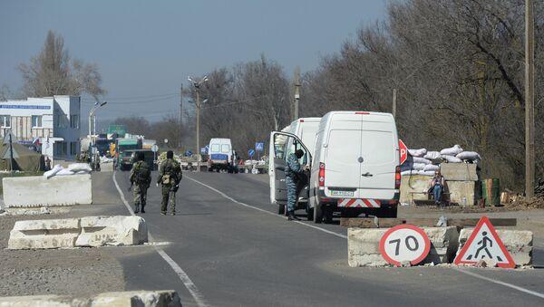 Ситуация на границе между Крымом и Украиной