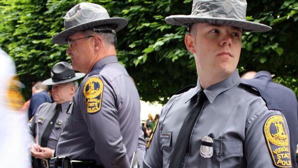 Полиция штата Вирджиния, США, архивное фото