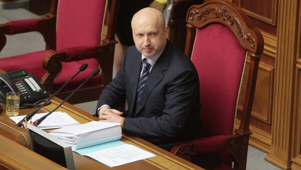 Исполняющий обязанности президента Украины Александр Турчинов. Архивное фото